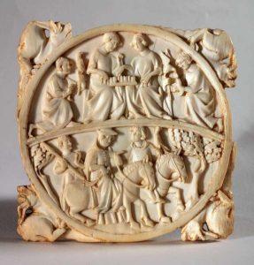 Manifattura di Parigi, 1325-1350 ca.
